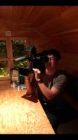 filmshooting on Biergarten